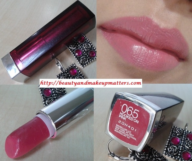 Maybelline-Lipstick-Hooked-On-Pink-Review