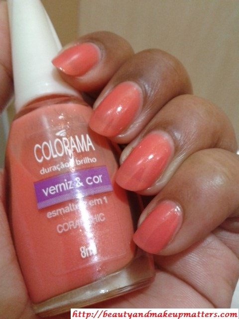 Maybelline-Nail-Paint-Coral-Chic-NOTD