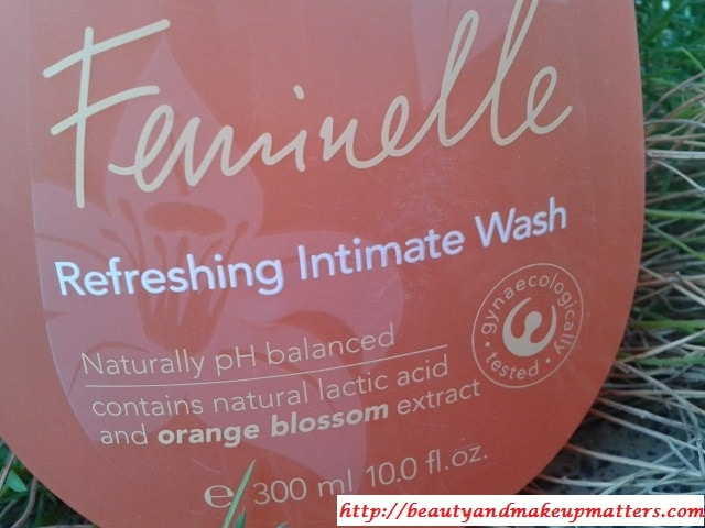 Oriflame-Feminellle-Refreshing-Intimate-Wash-Review