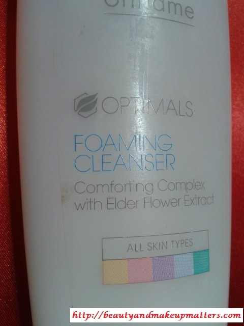 Oriflame-Optimals-Facial-Cleanser-Review
