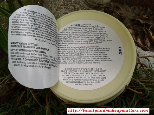 The-Body-Shop-Moringa-Body-Butter-Ingredients