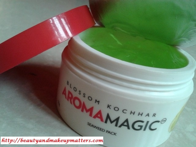 Aroma-Magic-SeaWeed-Gel-Face-Pack-Review
