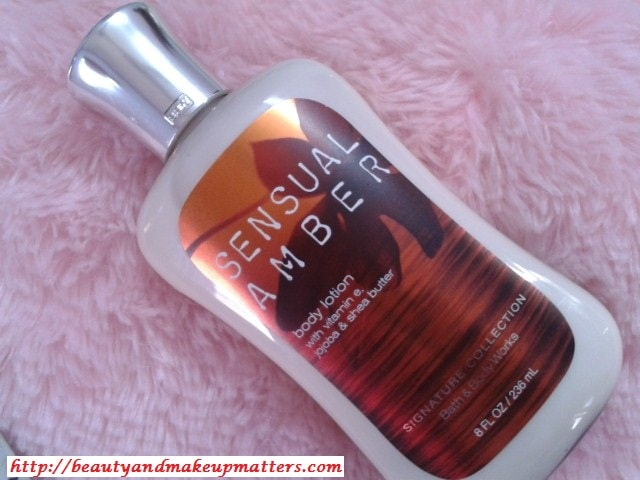 Bath-And-Body-Sensual-Amber-Body-Lotion