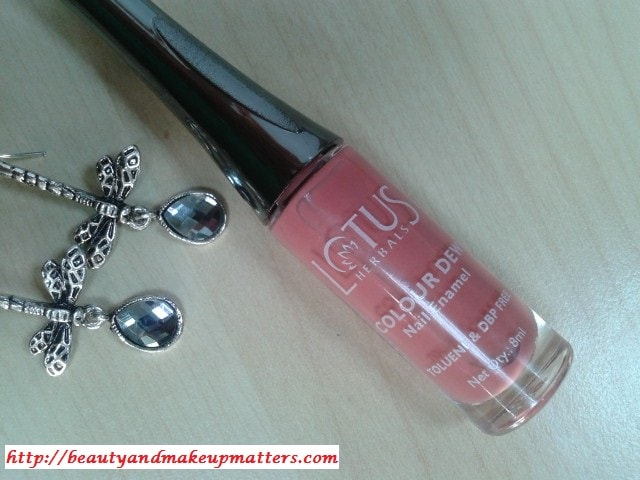 Lotus-Herbals-Color-Dew-Nail-Enamel-Candy-Drop-Review