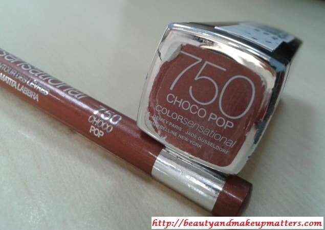 Maybelline-Choco-Pop-Lipstick-and-Lip-Liner-Comparison