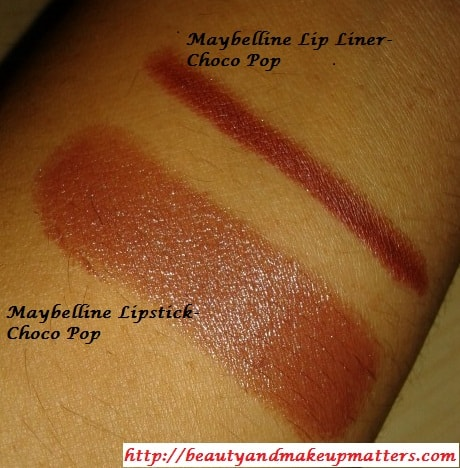 Maybelline-Choco-Pop-Lipstick-and-Lip-Liner-Swatch