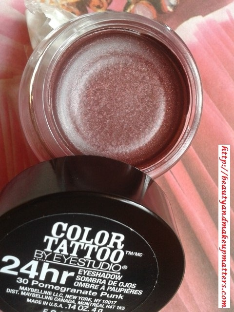 Maybelline-Color-Tattoo-By-EyeStudio-EyeShadow-PomegranatePunk-Review