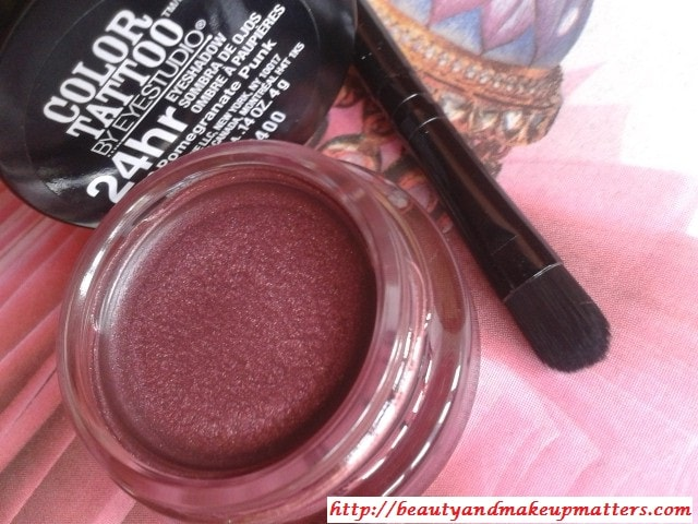 Maybelline-Color-Tattoo-Eye-Shadow-PomegranatePunk-Review