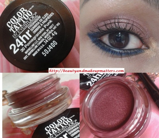 Maybelline-Color-Tattoo-EyeShadow-PomegranatePunk-Look
