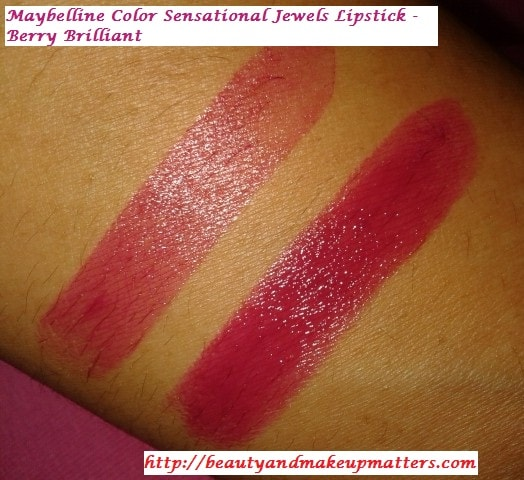 Maybelline-Jewels-Lipstick-Berry-Brilliant-Swatch