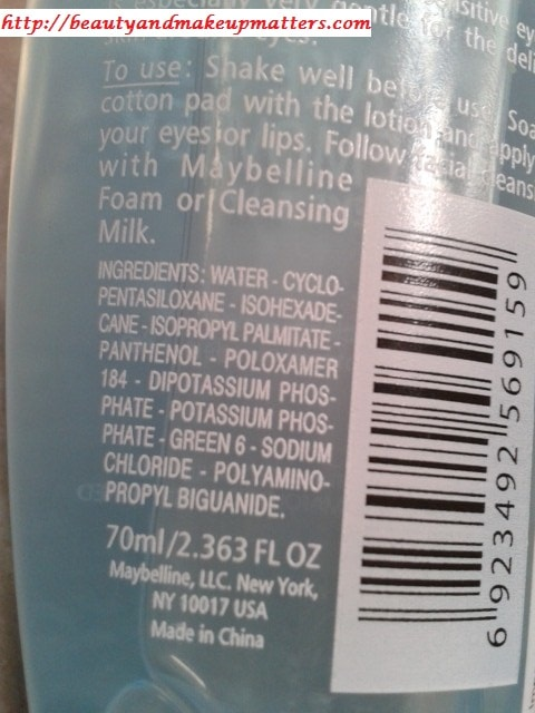 Maybelline-Makeup-Remover-Ingredients