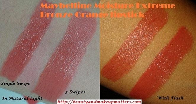 Maybelline-Moisture-Extreme-Lipstick-Bronze-Orange-Swatched