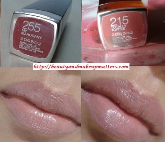 Maybelline-Moisture-Extreme-MyMahogany-TotallyToffee-Lipstick-LOTD