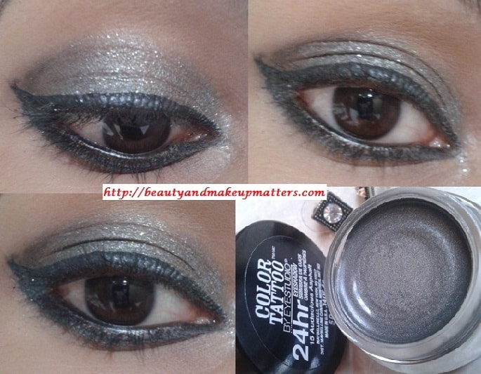 Maybelline-Tattoo-Eyeshdow-Audacious-Asphalt-EOTD