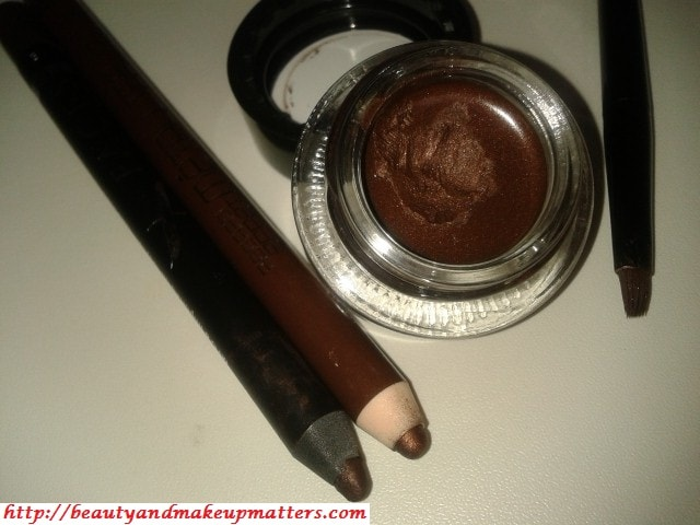 Metallic-Brown-Eye-Liners-L'Oreal-Bourjois-Faces