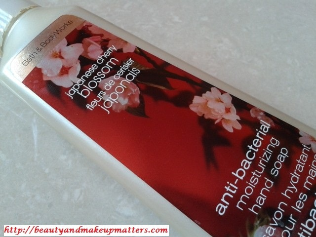 Bath-and-Body-Works-Japenese-Cherry-Blossom-Hand-wash-Review