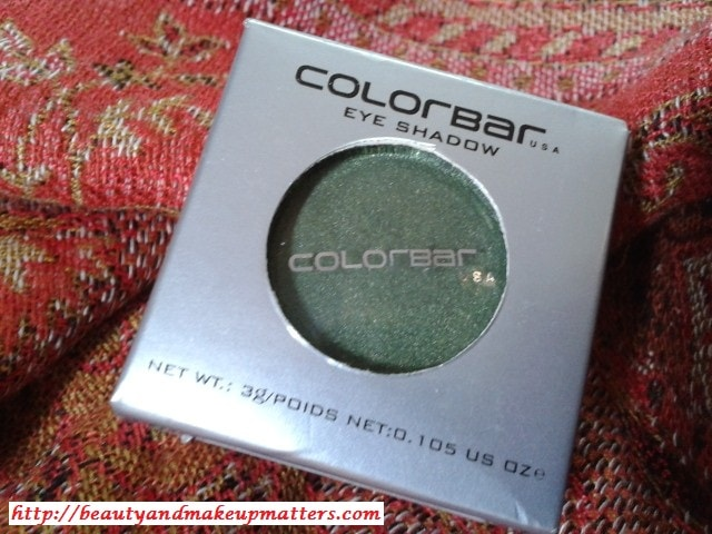 Colorbar-Eye-Shadow-Green-Stroke-006-Review