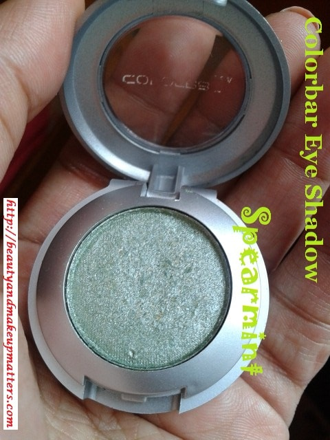 Colorbar-Eye-Shadow-Spearmint-Review