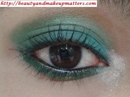 Eye-Makeup-Tutorial-Green-with-Envy-Eyes-Look