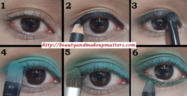 Eye-Makeup-Tutorial-Green-with-Envy-Eyes-Look1