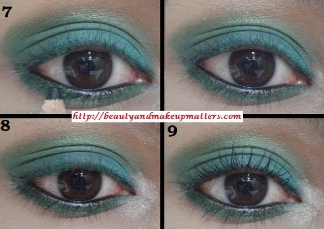 Eye-Makeup-Tutorial-Green-with-Envy-Eyes-Look2