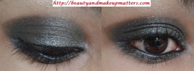 Eye-Makeup-Tutorial-Greyish-Black-Shimmery-Smokey-Eyes