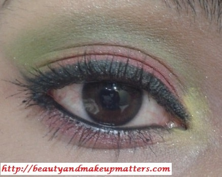 Eye-Makeup-Tutorial-Pink-and-Green-Eyes-Using-Inglot-Eye-Shadow-Final-Look