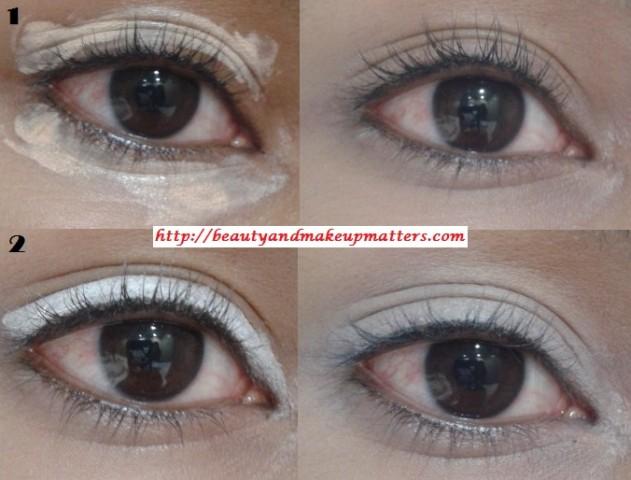 Eye-Makeup-Tutorial-Pink-and-Green-Eyes-Using-Inglot-EyeShadow-Look1