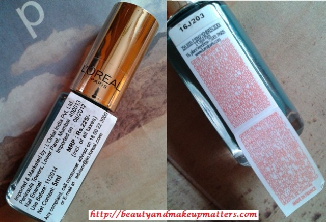 L'Oreal-Color-Riche-Nail-Paint-Blue-Reef-Price-Ingredients