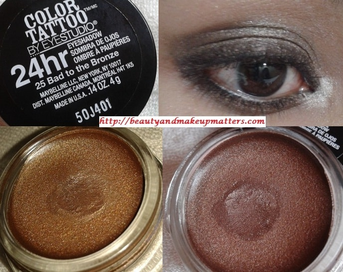 Maybelline-Color-Tattoo-Eye-shadow-Bad-To-Bronze-Look