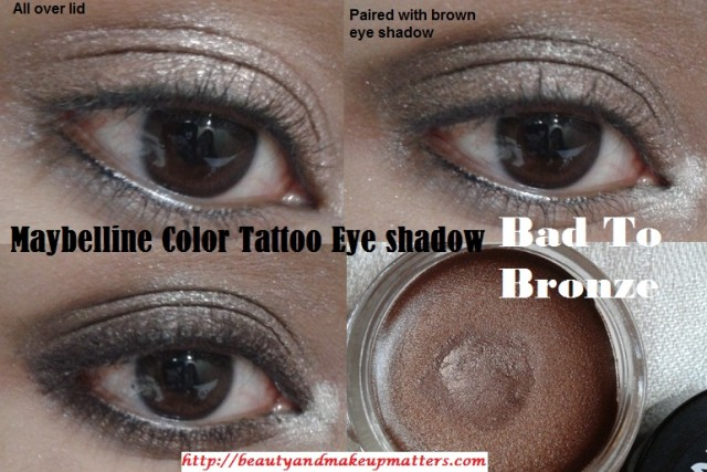 Maybelline-bad-to-bronze-Eyeshadow-Look