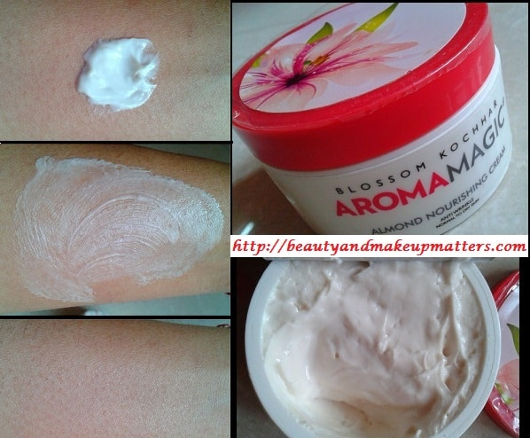 BlossomKochhar-AromaMagic-Almond-Nourishing-Cream-swatch