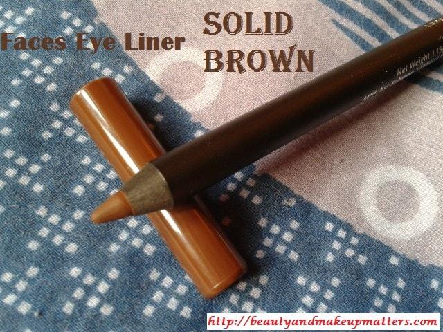 Faces-Eye-Pencil-Solid-Brown