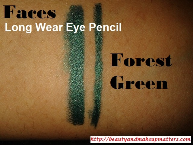 Faces-Long-Wear-Eye-Pencil-Forest-Green-Swatch1