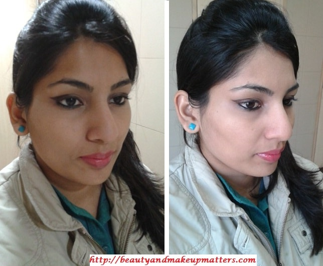 Look-with-Dual-Winged-Eye-Liner-EOTD-using-Brown-Gel-EyeLiner