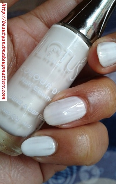Lotus-Herbals-Color-Dew-Nail-Enamel-Pure-White-Swatch