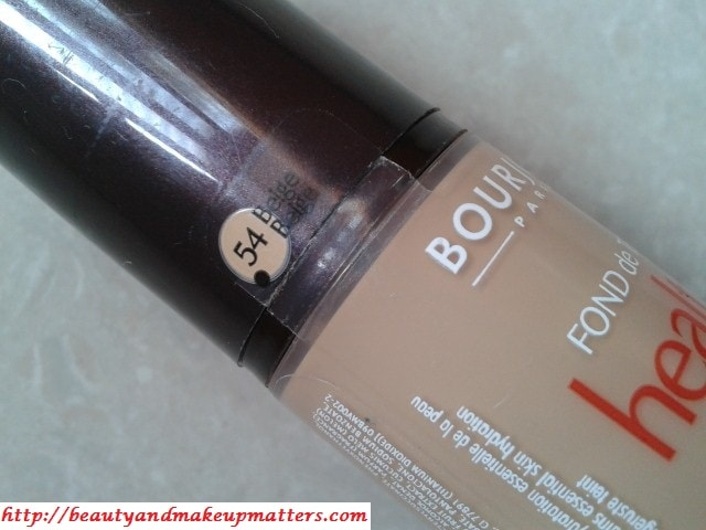 Bourjois-Foundation-Healthy-Mix-54-Beige-Review