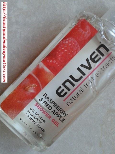 Enliven-Raspberry&RedApple-ShowerGel