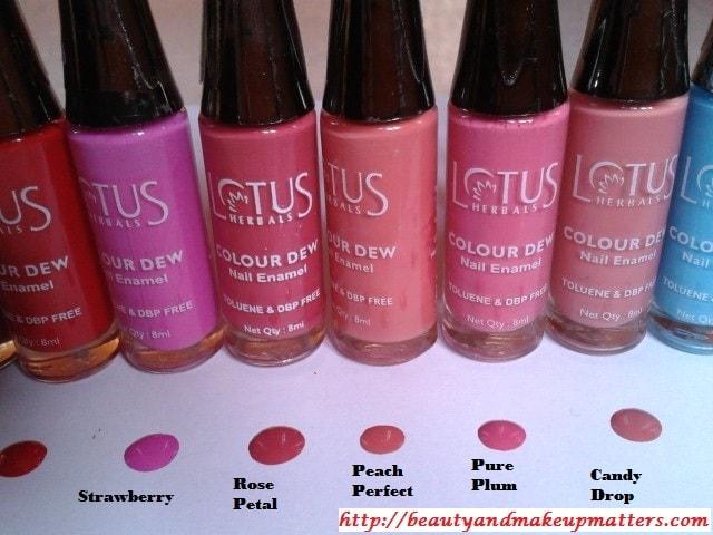 Lotus-Herbals-Color-Dew-Nail-Enamel-Peach&Pinks