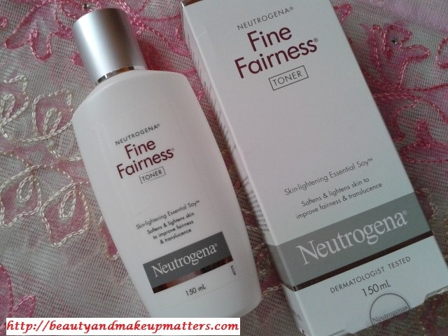 Neutrogena-Fine-Fairness-Toner-Review