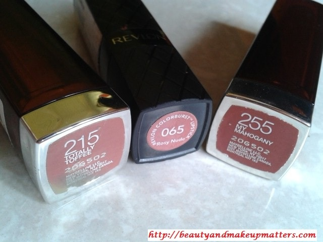 Nude-Lipsticks-From-Maybelline-Revlon