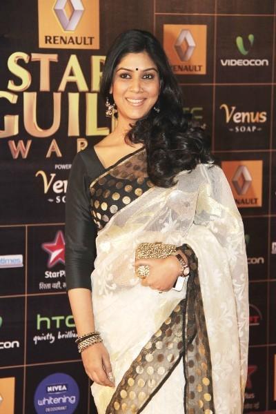 Sakshi-Talwar-at-2013-Renault-Star-Guild-Awards