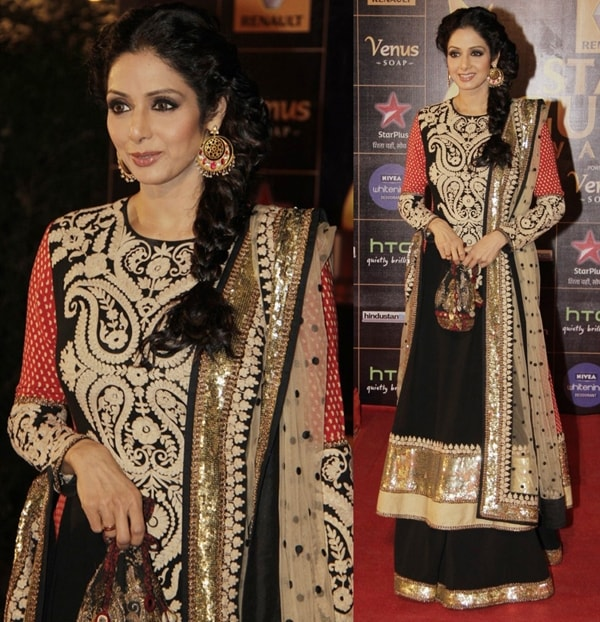 SriDevi-At-2013Renault-Star-Guild-Awards