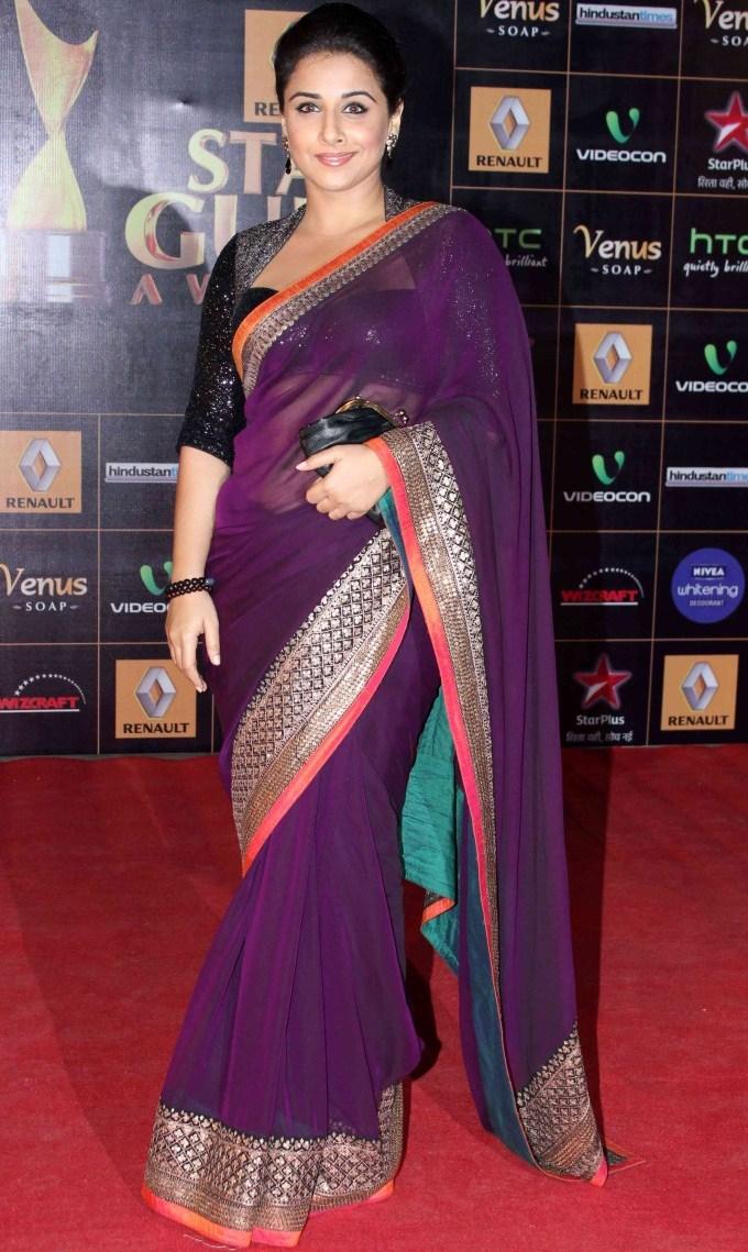 Vidya-Balan-At-2013-Renault-Star-Guild-Awards
