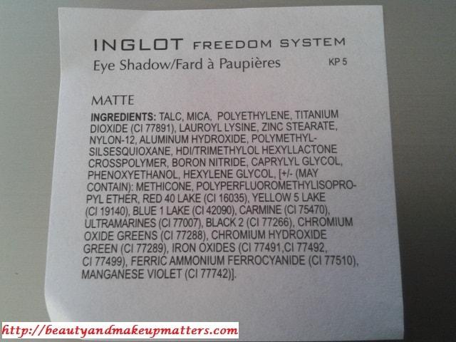 Inglot-Freedom-System-Eye-Shadow-382-Matte-Ingredients