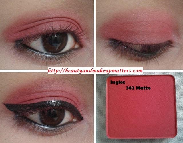 Inglot-Freedom-System-EyeShadow-Matte-382-EOTD