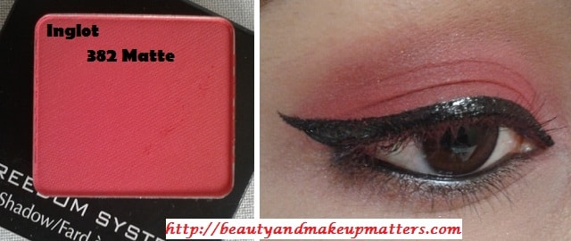 Inglot-Freedom-System-EyeShadow-Matte-382-Look