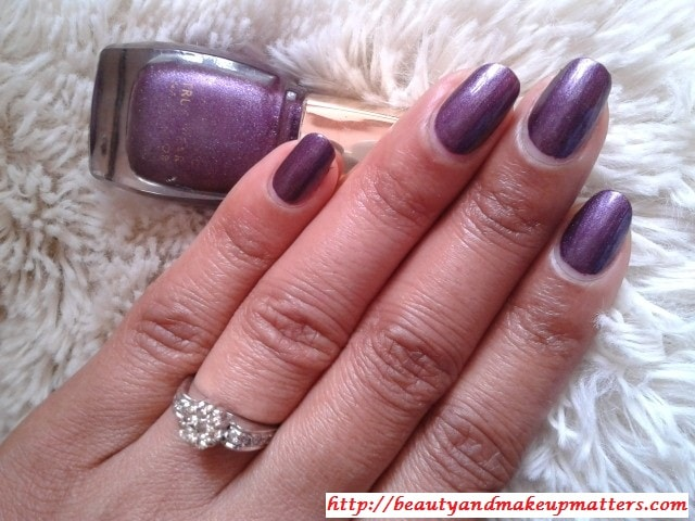 Lakme-True-Wear-Nail-Color-Metallics240-NOTD