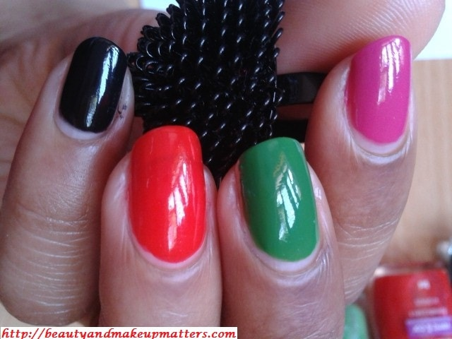 Maybelline-Coloroma-Nail-Paints-Sexy-Graus-Black-VerdePalmeria-NOTD