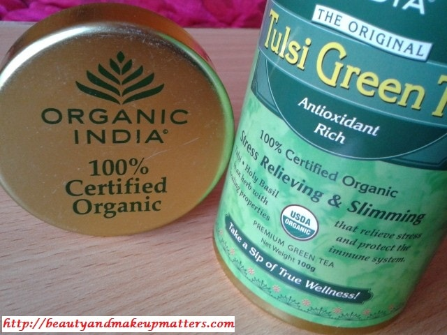 OrganicIndia-Tulsi-Green-Tea-Review